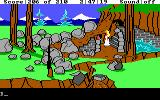 King's Quest III: To Heir is Human DOS Back in the land of Daventry with Rosella. (EGA/Tandy)