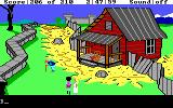 King's Quest III: To Heir is Human DOS An old gnome. (EGA/Tandy)