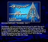 F-117 Night Storm Genesis Mission summary