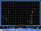Lazer Trap Browser You are the small yellow thing with a red dot in the middle