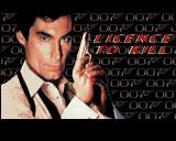 007: Licence to Kill Amiga Title screen