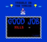 Excitebike: Trouble on the Tracks Browser Game over.