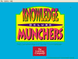 Trivia Munchers Deluxe Windows Title screen