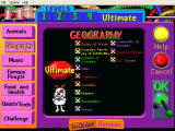 Trivia Munchers Deluxe Windows Subcategories of geography on Ultimate difficulty level