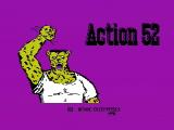 Action 52 NES The main title screen