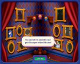 Peggle: Nights Windows The portrait gallery tracks the progress of the game.