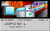 Air Bucks Amiga Setting up advertising budget