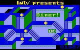 Diner Intellivision Title screen