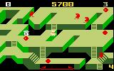 Diner Intellivision The platforms move on some levels, don't get caught falling in a hole!