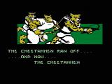 Action 52 NES Title screen for The Cheetahmen