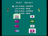 Volleyball NES Set up a new game