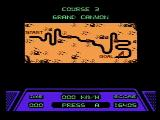 Rad Racer NES An overview of the course