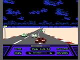 Rad Racer NES Traffic gets in the way