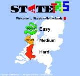 Statetris Browser Choose one of the three difficulty levels.
