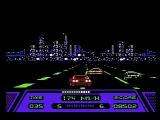 Rad Racer NES Racing towards San Francisco