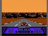 Rad Racer NES Racing in the Grand Canyon