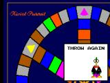 Trivial Pursuit SEGA Master System Moby landed on a throw again space.