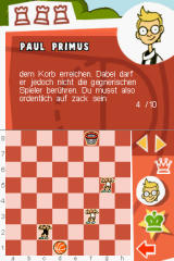 Schach Attacke Nintendo DS Try to complete chess games.