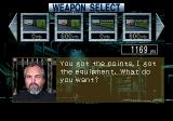 Metal Head SEGA 32X Between missions you can select weapons.