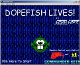 Dopefish Lives! Windows 3.x Title screen