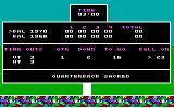 Super Bowl Sunday PC Booter My quarterback was sacked! (PCjr)
