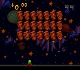 The Ren & Stimpy Show: Time Warp SNES Space Invaders clone bonus game