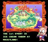 Tiny Toon Adventures: Wacky Sports Challenge SNES Hampton introduces the events