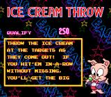 Tiny Toon Adventures: Wacky Sports Challenge SNES Rules for the Ice Cream Throw