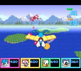 Tiny Toon Adventures: Wacky Sports Challenge SNES Collect the balls in the Birdman Contest