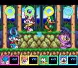 Tiny Toon Adventures: Wacky Sports Challenge SNES Log Cutting