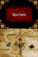 Castlevania: Order of Ecclesia Nintendo DS The overworld map. New locations appear as you make your way through the game. I imagine this map will get rather crowded by the end.