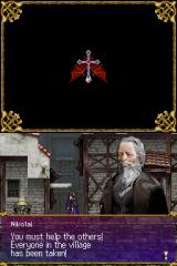 Castlevania: Order of Ecclesia Nintendo DS You get this small village as your base of operations. Eventually you will locate and rescue more and more of its citizens, who will promptly set up shops and start charging you money...