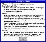 Daleks Windows 3.x Instructions