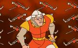 Dragon's Lair: Escape from Singe's Castle DOS But not for long!...as long as you've got lives left.