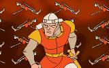 Dragon's Lair II: Time Warp DOS Our hero is resurrected.