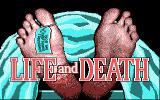 Life & Death DOS Title Screen