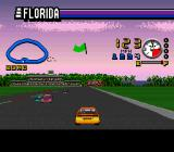 ESPN Speed World SNES Racing against other cars.
