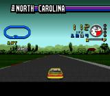 ESPN Speed World SNES No other cars are on the track when in practice mode.