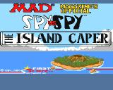Spy vs. Spy: The Island Caper Amiga Title screen