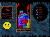 Acid Tetris DOS A tight game and a matching expression!