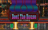 Beat the House DOS Title screen.