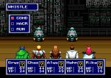 Phantasy Star IV Genesis Battle in a lab