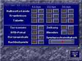 Bundesliga Manager Professional DOS Match options (German version)