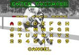 Mario Lemieux Hockey Genesis Password screen