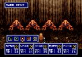 Phantasy Star IV Genesis Fighting in a dungeon