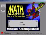 Math Blaster: Episode 2 - Secret of the Lost City Windows Your score, print?