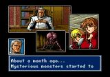 Phantasy Star IV Genesis One of the game's many wonderful animé cut scenes