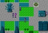Phantasy Star II Genesis Walking around in Paseo