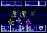Phantasy Star II Genesis Battle