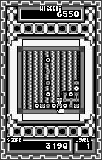 "Mingle Magnet WonderSwan Switching the direction blocks are now ""falling"" from the left."